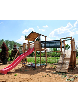 ������� �������� Jungle Gym Chalet Deluxe