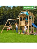 ������� ������� Jungle Gym Barn + SwingModule Xtra