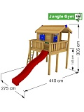 ������� ������� Jungle Gym Playhouse XL