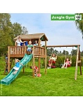 ������� ������� Jungle Gym Playhouse XL + SwingModule Xtra