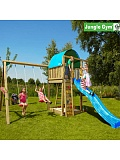 ������� ������� Jungle Gym Villa + SwingModule Xtra