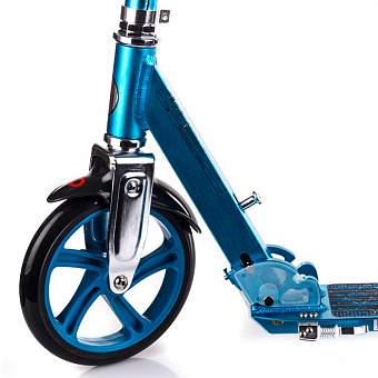 Самокат А5 Lux Scooter Razor, синий. Фото �6